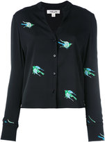 Diane von Furstenberg bird print blouse