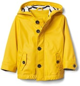 Gap Jersey-lined rain slicker