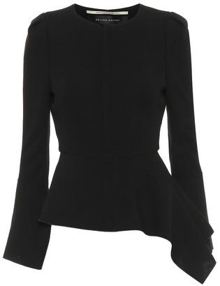 Roland Mouret Noto wool-crepe jacket