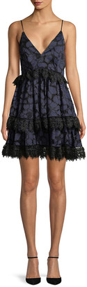 KENDALL + KYLIE Lace Baby Doll Dress