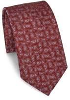 Eton Paisley Printed Silk Tie