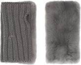 Pologeorgis The Fur Fingerless Gloves