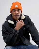 Converse Bobble Beanie In Orange Con088
