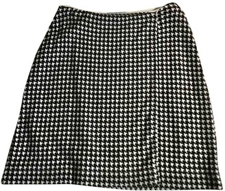 Philosophy di Alberta Ferretti Black Wool Skirt for Women