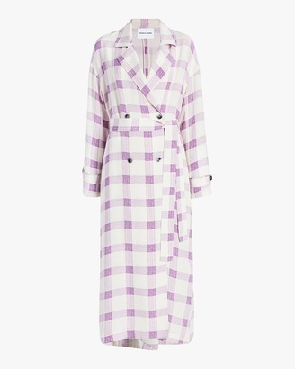 Michelle Waugh The Jany Drapey Trench Coat
