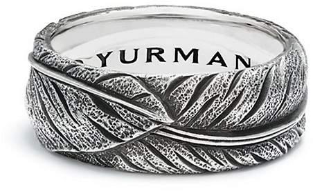 David Yurman Southwest Narrow Feather Band Ring