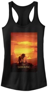 Fifth Sun Disney Juniors' Lion King Pride Rock Poster Ideal Racerback Tank Top