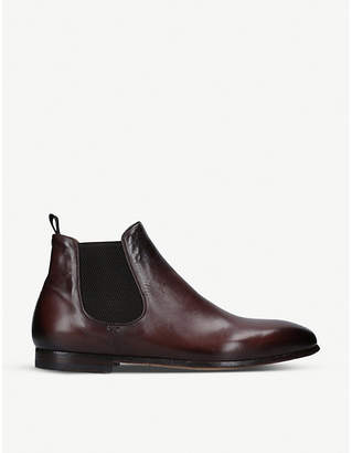 Officine Creative Alain leather Chelsea boots