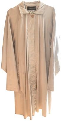 Ramosport Beige Coat for Women Vintage