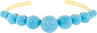 Irene Neuwirth Jewelry Kingman Turquoise Sphere Cuff