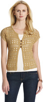 Jones New York Short Sleeve Cardigan