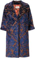 L'Autre Chose jacquard coat