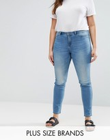 Junarose Washed Slim Leg Jean