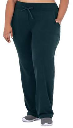 Athletic Works Women's Plus Size Active Relaxed Fit Sweatpants