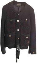 Cavallini Erika Black Wool Jacket for Women
