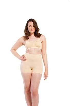Magic Body Fashion Magic Bodyfashion Women's Magic Comfort Short Control Knickers,(Size:X-Large)