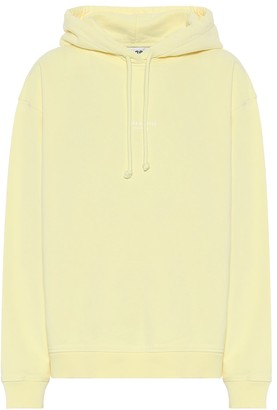 Acne Studios Logo cotton-jersey hoodie