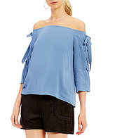 Gianni Bini Penny Off the Shoulder Blouse
