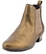 Gerry Weber Caren 03 Women Round Toe Leather Bronze Ankle Boot.