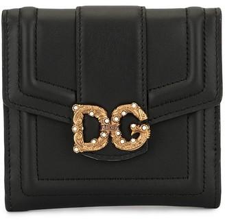 Dolce & Gabbana Amore flap wallet