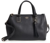 Kate Spade Kingston Drive - Alena Leather Satchel - Black
