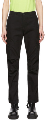 Carhartt Work In Progress Black Cymbal Cargo Pants