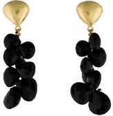 Robin Rotenier 22K Onyx Drop Earrings