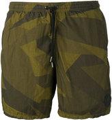 Hydrogen camouflage swim shorts - men - Polyamide - S