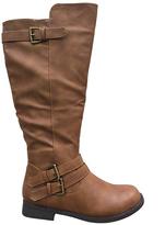 Cognac Slouch Celia Boot