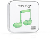 Happy Plugs Mint Green Earbuds