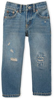 Levi's Toddler Boys) Distressed Classic Straight Jeans