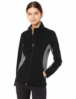 Cutter & Buck Women's Long Sleeve Full Zip Lightweight Navigate Softshell Jacket
