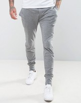 Paul Smith Cuffed Joggers in Slim Fit Gray