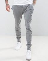 Paul Smith Cuffed Joggers In Slim Fit Grey
