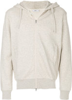 Closed zip-up hoodie