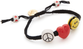 Venessa Arizaga Peace Love & Happiness Bracelet