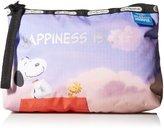 Le Sport Sac X Peanuts Essential Wristlet Cosmetic Bag