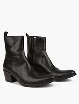 Haider Ackermann Black Leather Chelsea Boots