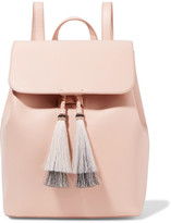 Loeffler Randall Tassel-trimmed Leather Backpack - Blush
