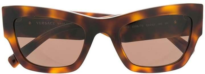 Versace Eyewear tortoiseshell sunglasses