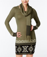 Energie Juniors' Patty Sweater Tunic with Scarf