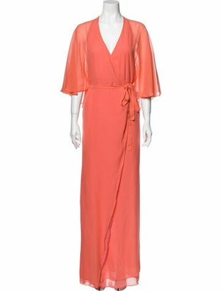 Paul & Joe Silk Long Dress w/ Tags Pink