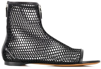 Givenchy Net Boots