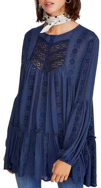 a447e0b8743c Free People Blue Women's Tunics - ShopStyle
