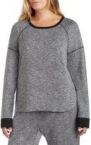 Kensie Plus Marbled Knit Sleep Top