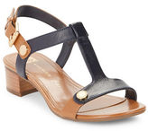 Anne Klein Ebber Leather Slingback Sandals