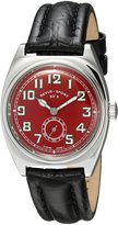 Revue Thommen 15000.3536 Men's Sport 30s Wrist Watch, Dial with Black Band