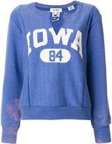 RE/DONE Iowa sweatshirt - women - Cotton/Polyester - II