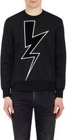 Neil Barrett Men's Lightning Bolt Sweatshirt