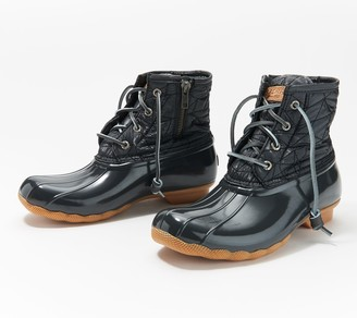 Sperry Nylon Quilted Saltwater Duck Boot